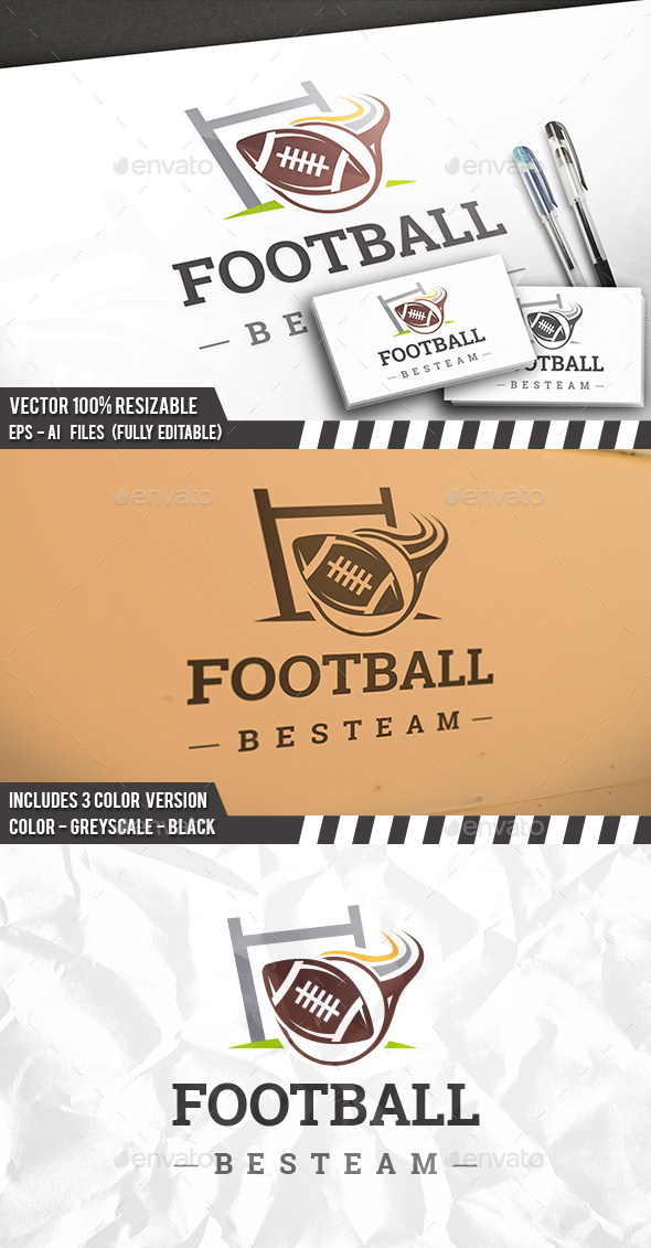 Rugby Team Logo - Sports Logo Templates