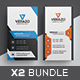 Business Card Bundle 33 - GraphicRiver Item for Sale