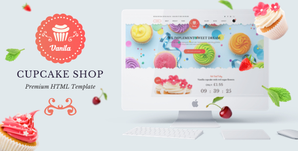 Bakery - Vanila  Cakery & Bakery HTML5 Template