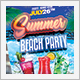 Summer Beach Cocktail Party Flyer - GraphicRiver Item for Sale