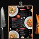 Menu Restaurant - GraphicRiver Item for Sale