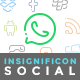 Insignificon Social - 38 Social Media Icons - GraphicRiver Item for Sale