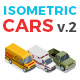 Vector Cars Set Isometric Flat Style v.2 - GraphicRiver Item for Sale