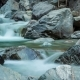 of Mountain River. Fast Water Flow, Stones, Waterfall - VideoHive Item for Sale