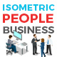 Vector Business People Set Isometric Flat Style - GraphicRiver Item for Sale