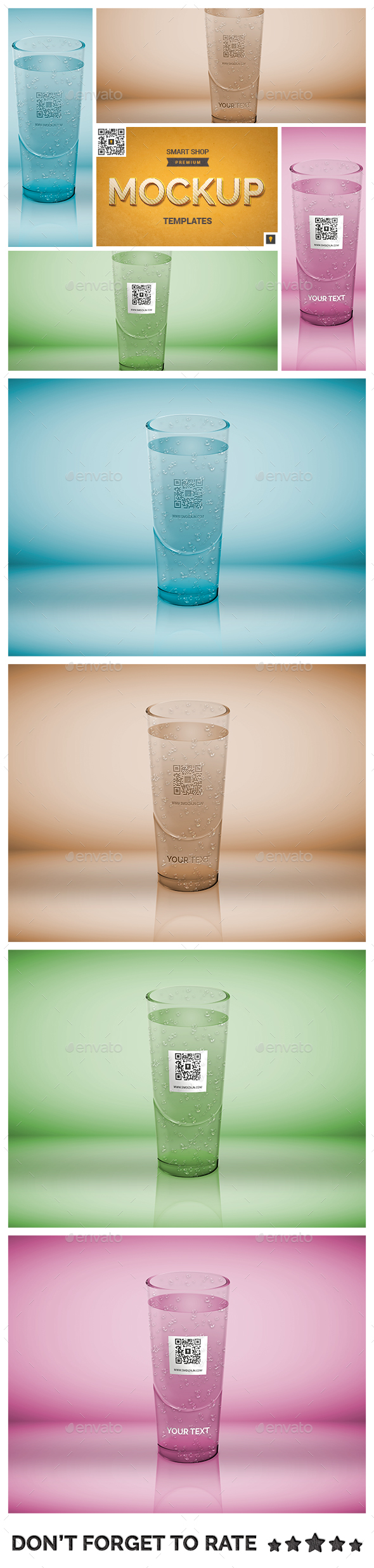 Logo Mockup on Translucent Glass Object - Miscellaneous Product Mock-Ups