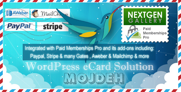 Mojdeh | WordPress Greeting / eCard / Postcard Plugin - CodeCanyon Item for Sale