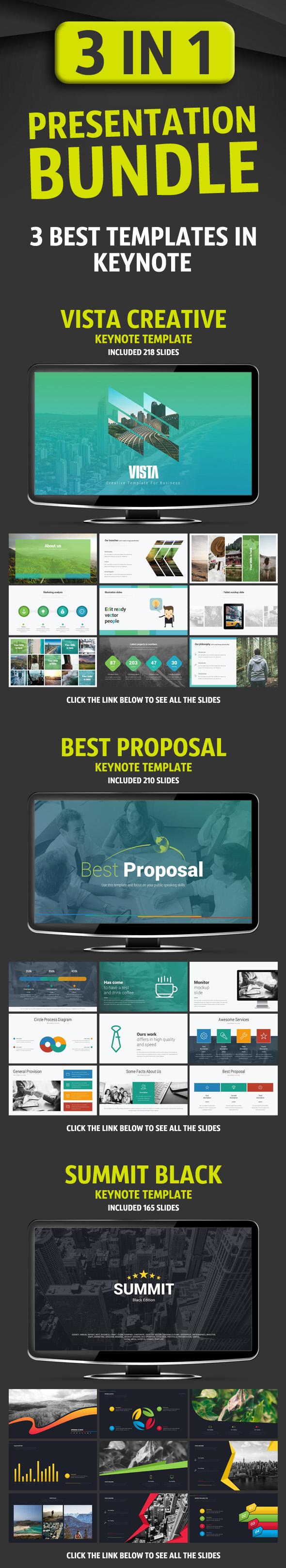 Presentation Bundle - Business Keynote Templates