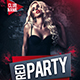 Red Party Flyer - GraphicRiver Item for Sale