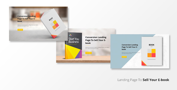 BookLand - Conversion Landing page - Marketing Corporate