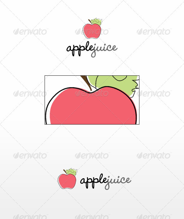 Apple Juice - Nature Logo Templates