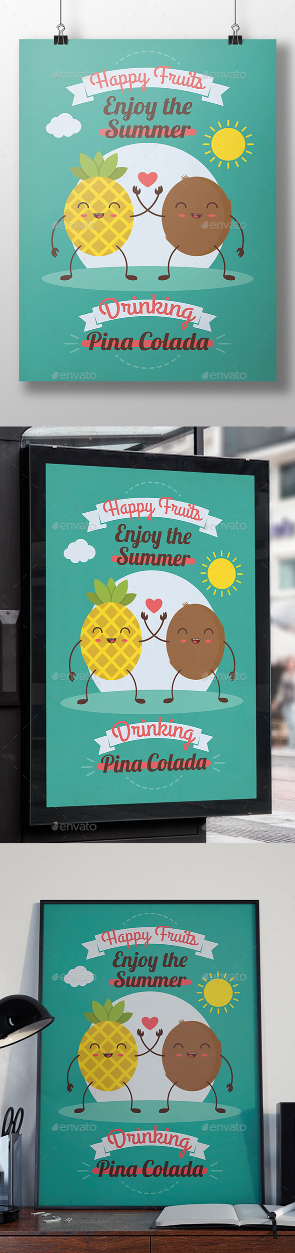 Pina Colada Party Flyer - Miscellaneous Events