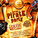 Pirate Party Poster vol.2 - GraphicRiver Item for Sale