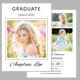 Graduation Invitation Template V06 - GraphicRiver Item for Sale