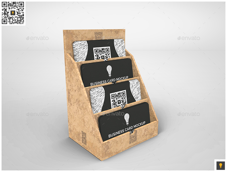 Business Card Holder Mockup Set by shockydesign | GraphicRiver