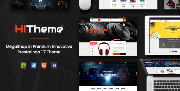 HiTheme – Wonderful Responsive PrestaShop 1.7 Theme