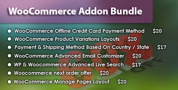 WooCommerce Addon Bundle - CodeCanyon Item for Sale