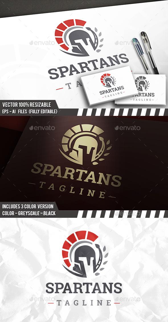 Spartan Proud Logo - Humans Logo Templates