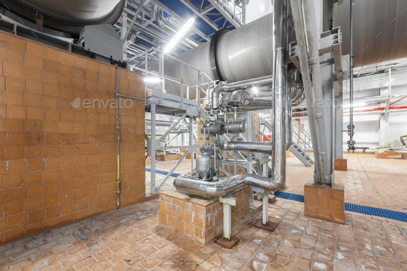 Chemical plant inside - Stock Photo - Images
