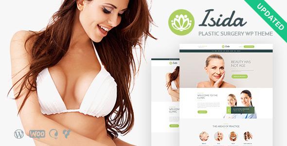 Isida - Plastic Surgery Clinic   Medical WordPress Theme - Health & Beauty Retail