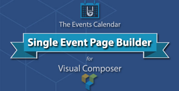 The Events Calendar Single Event Page Builder
