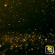 Gold Particle Falling - VideoHive Item for Sale