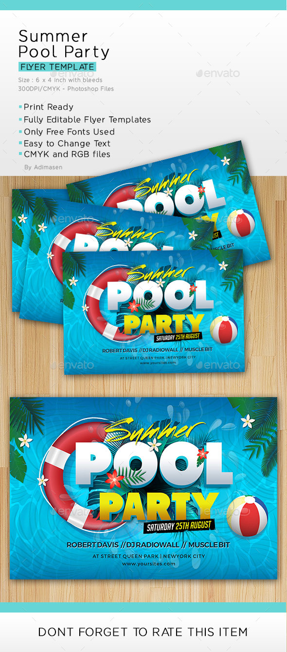 Summer Pool Party - Clubs & Parties Events