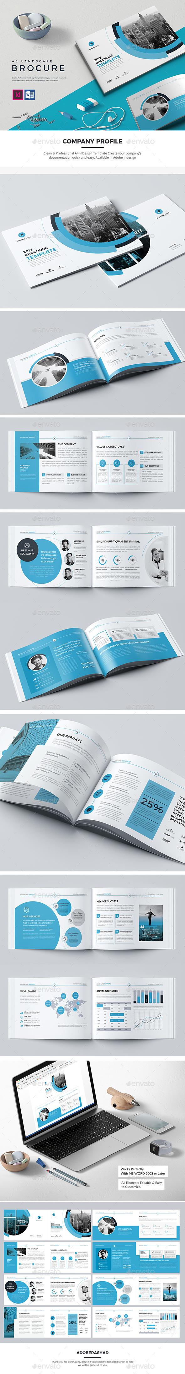 Co Landscape Brochure 16 Pages - Corporate Brochures
