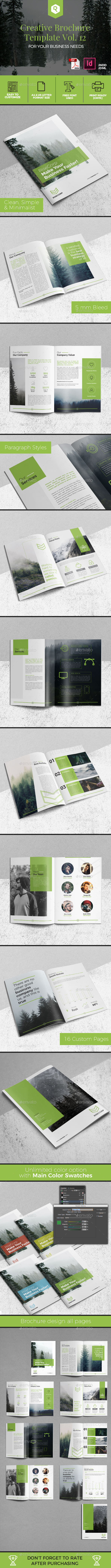 Creative Brochure Template Vol. 12 - Corporate Brochures