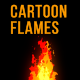 Cartoon Flames - VideoHive Item for Sale