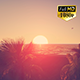 Tropical Beach Sunset - VideoHive Item for Sale
