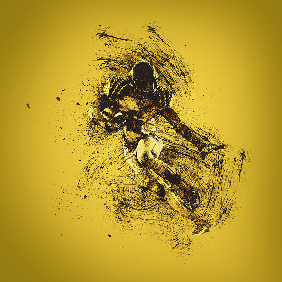 Gif Animated Ink Scribbles Photoshop Action