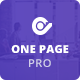 One Page Pro - Multi Purpose OnePage WordPress Theme - ThemeForest Item for Sale