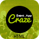 Craze - App Landing, Conference & Event Template
