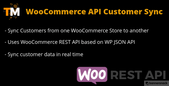 WooCommerce API Customer Sync - CodeCanyon Item for Sale