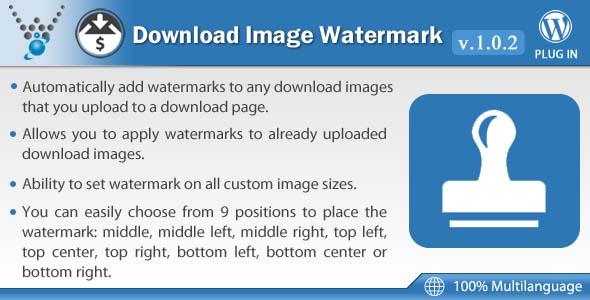 Easy Digital Downloads - Download Image Watermark - CodeCanyon Item for Sale