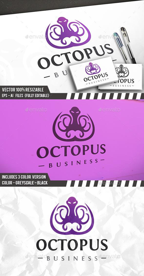 Evil Octopus Logo - Crests Logo Templates