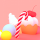 Cartoon Sweet Candy World - VideoHive Item for Sale