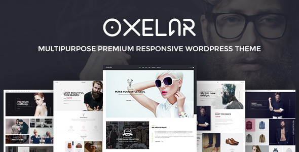 Oxelar - Fashion Responsive WordPress Theme