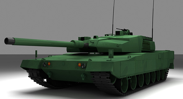 ALTAY TANK TURKISH ARMY - 3DOcean Item for Sale