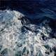 Foamy Waves At Side Of Ship
