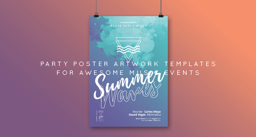 Party Flyer, Poster Templates by Sao108