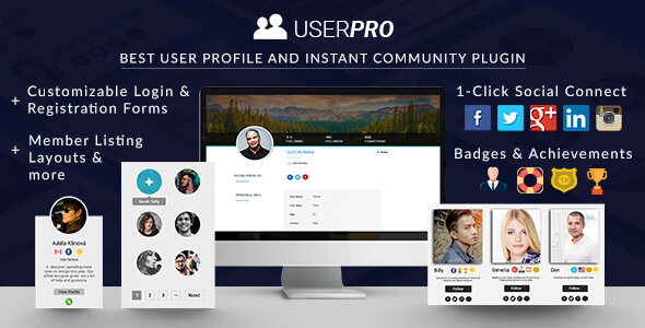 UserPro - User Profiles with Social Login - CodeCanyon Item for Sale