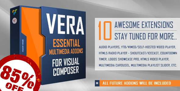 Vera Essential Multimedia Addons for Visual Composer