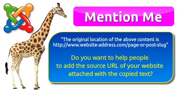 """The original location of the above content is www.example.com"" by Mention Me for Joomla - CodeCanyon Item for Sale"