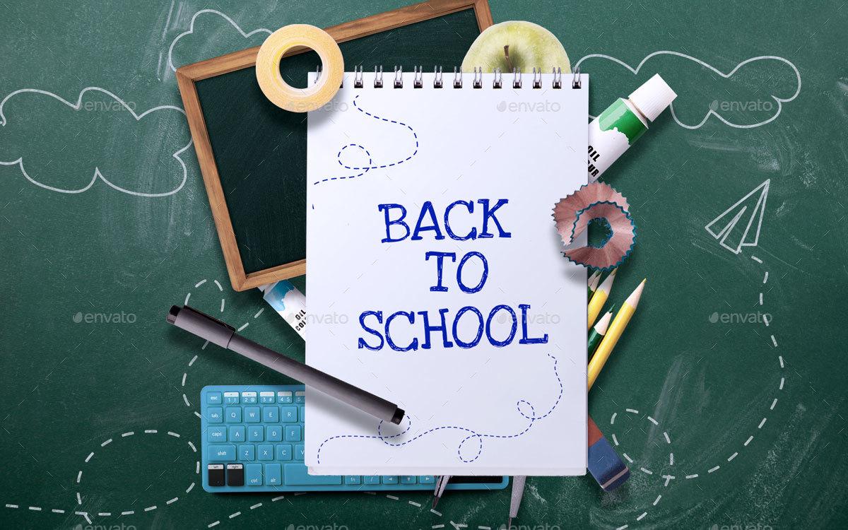 school photo template