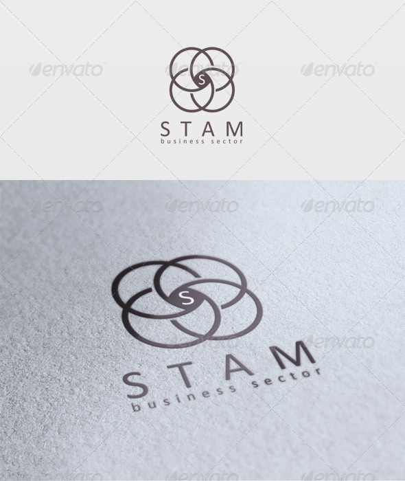 Stam Logo - Letters Logo Templates