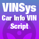 VINSys - Bootstrap Car Info VIN Script - CodeCanyon Item for Sale