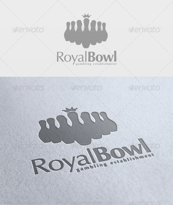 Royal Bowl Logo - Symbols Logo Templates