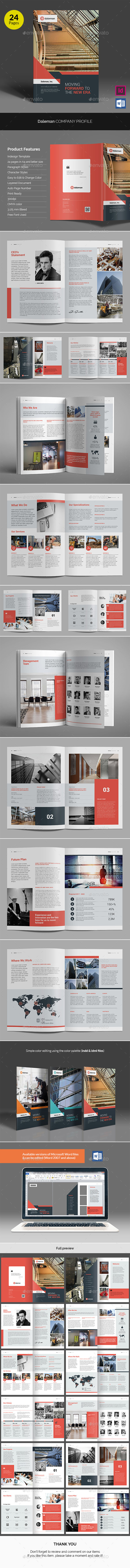 Daleman Company Profile v04 - Corporate Brochures